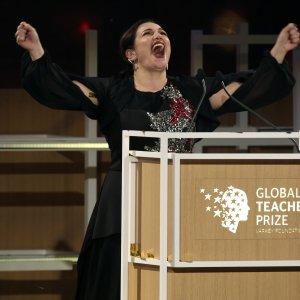 Global Teacher Prize.